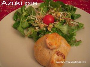 Azuki pie