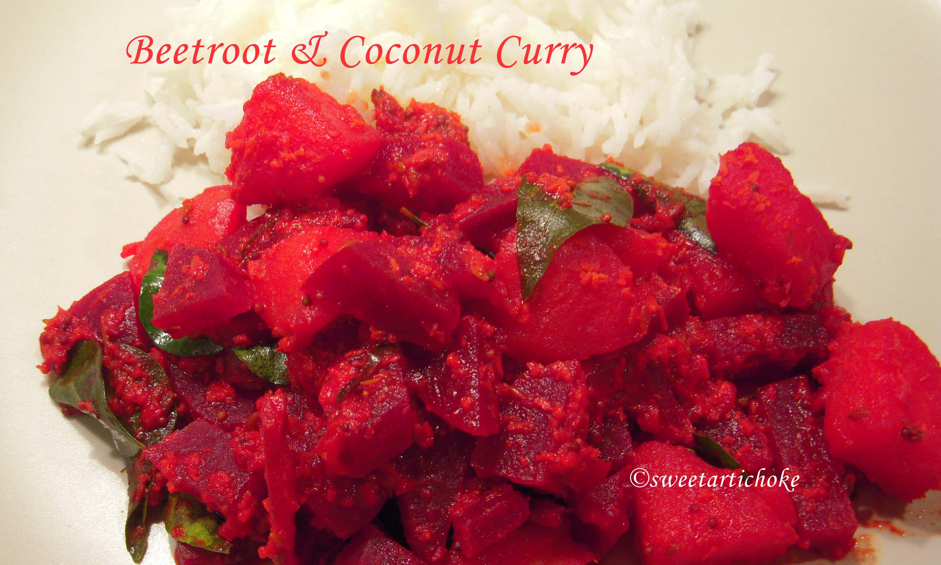 Beetroot Curry Beetroot Coconut Curry