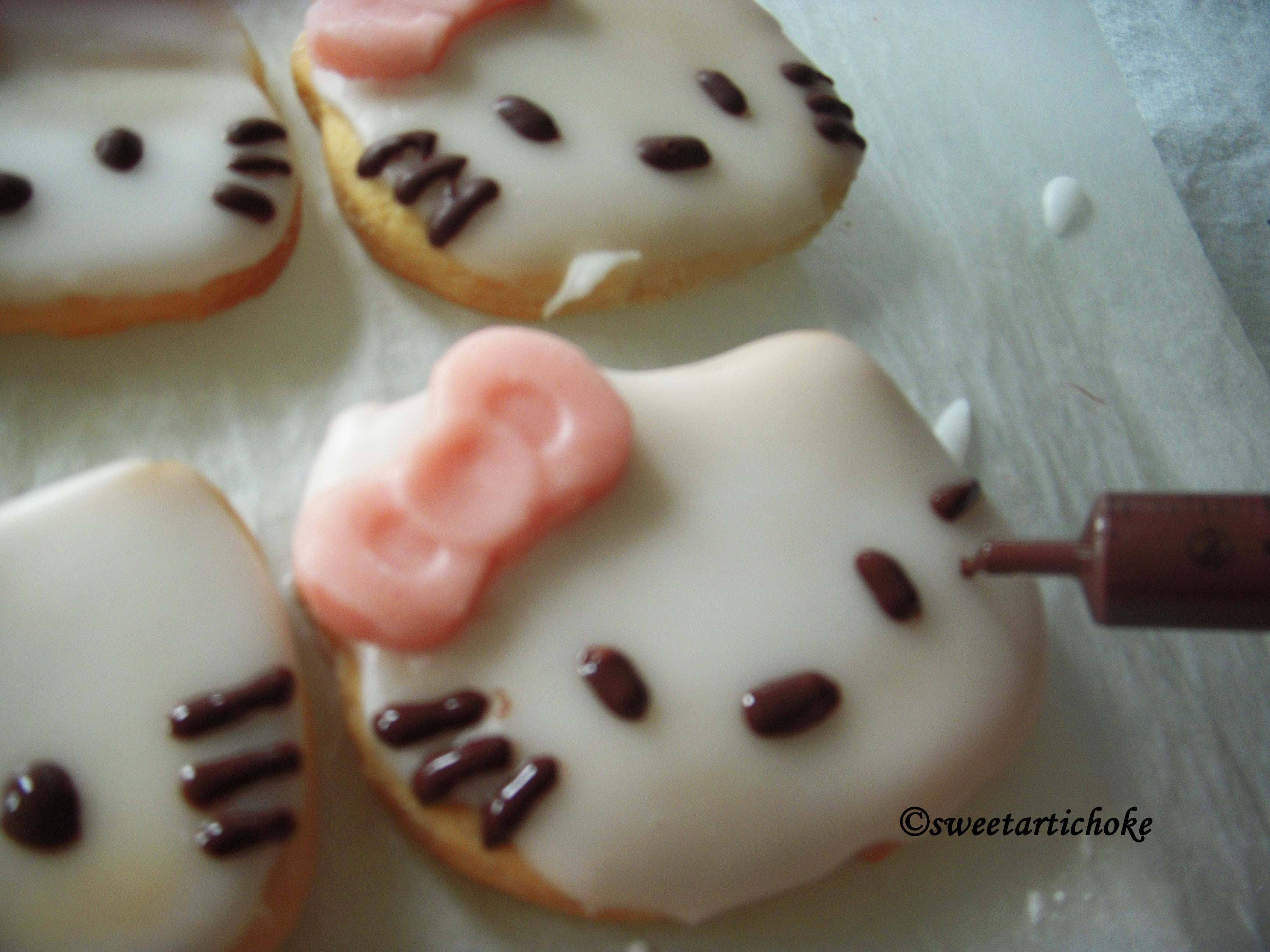 Hello Kitty Cookies Super Easy Vanilla Biscuits Sables Super