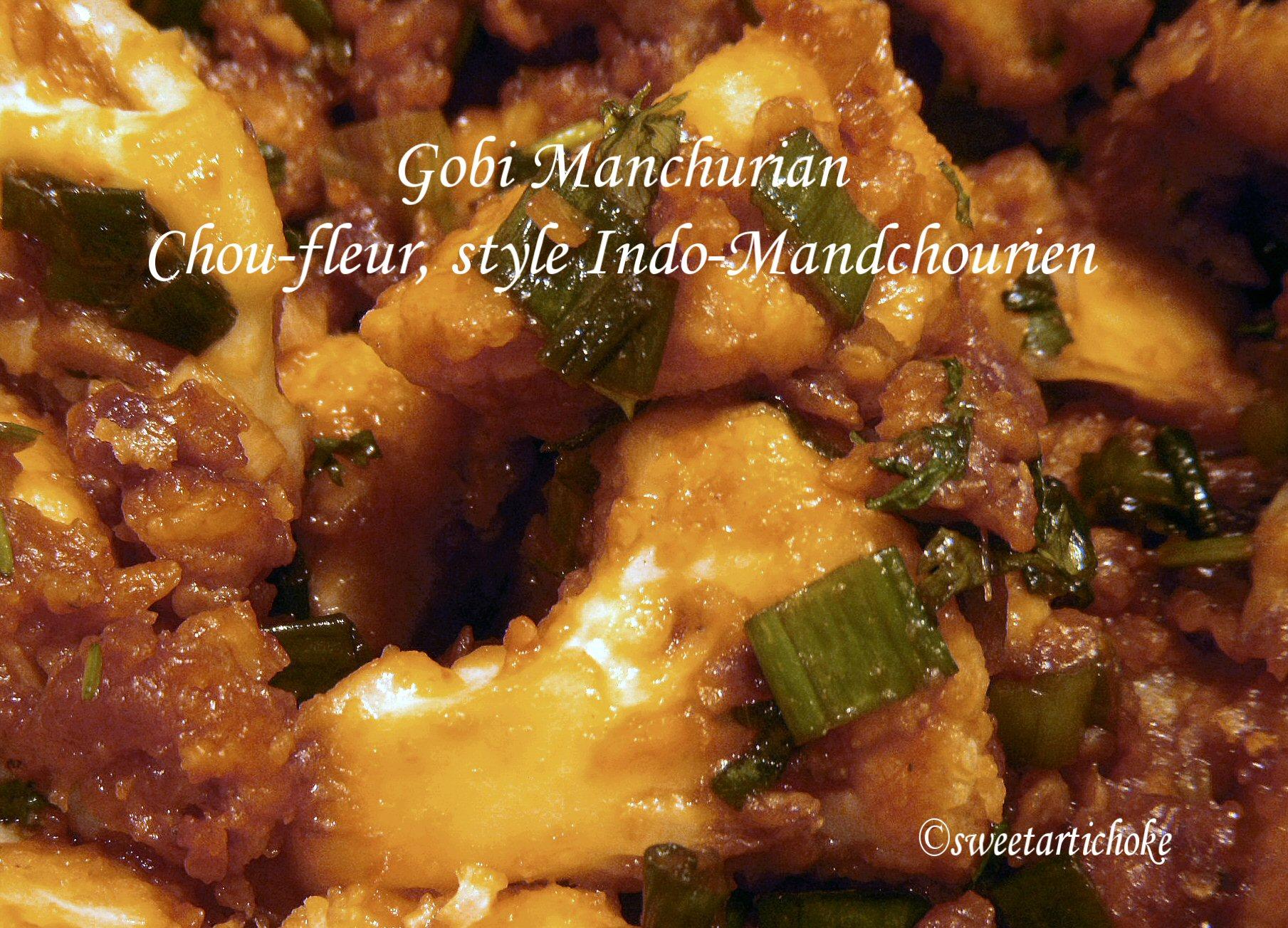 Gobi Manchurian Chou Fleur Style Indo Mandchourien Sweet Artichoke