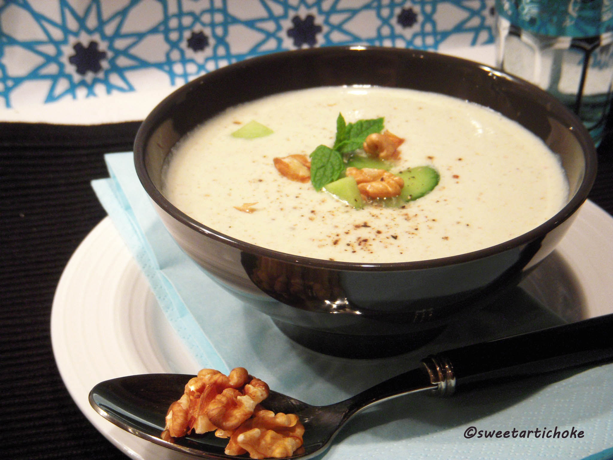 ... yogurt nut soup chilled minty yogurt nut soup chilled yogurt mint and