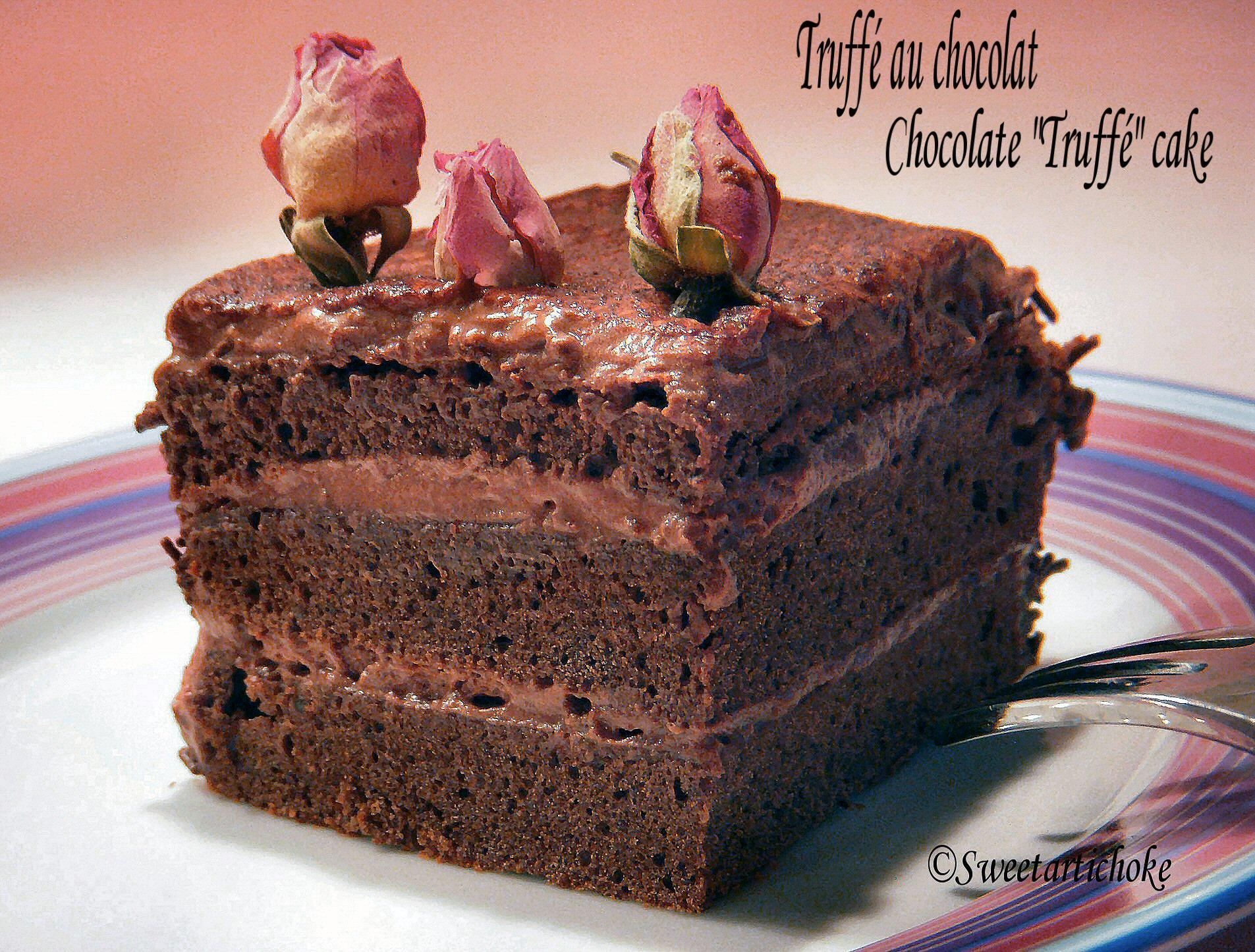 Gateau au chocolat a se damner