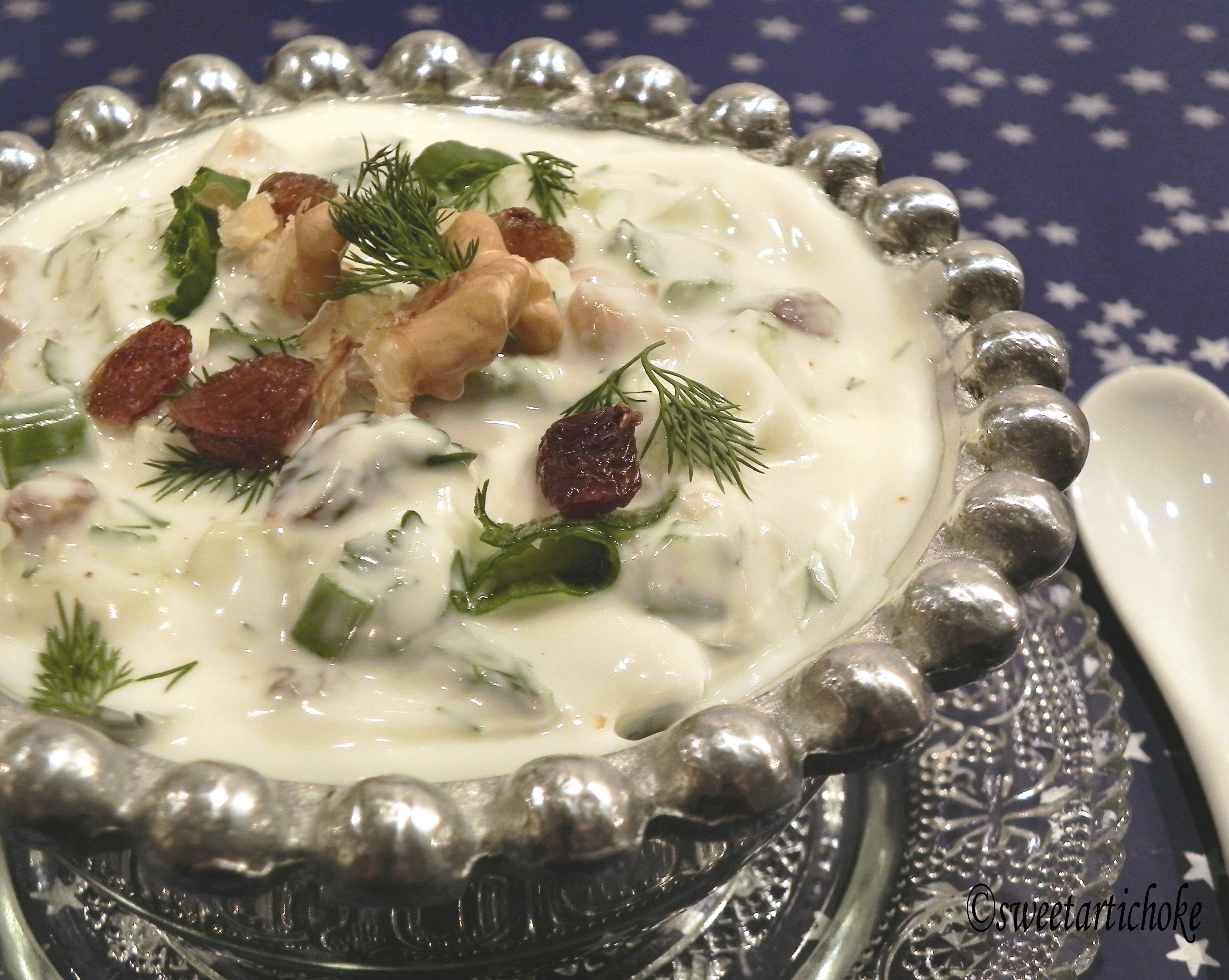 a.w.e.d event announcement – mast va khiar, iranian cucumber salad